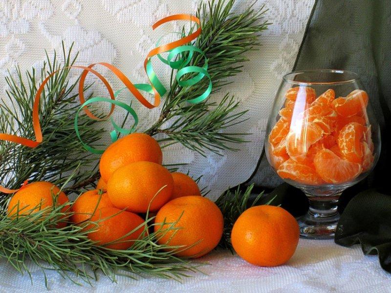 Цитрусовая фантазия на Новый год
