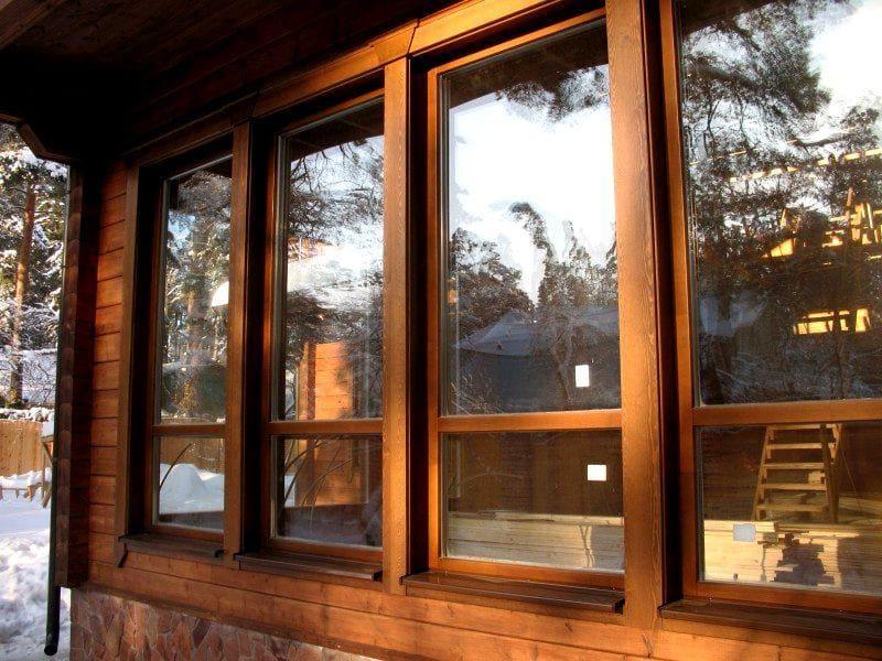 Хороши либо нет деревянные окна?
