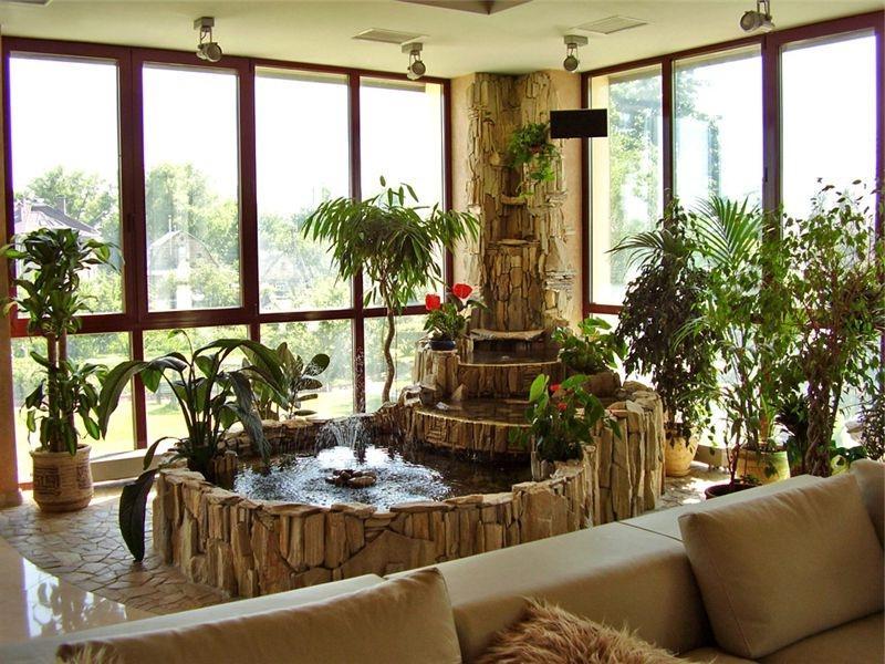 Фонтаны для комнат как способ уединения с природой