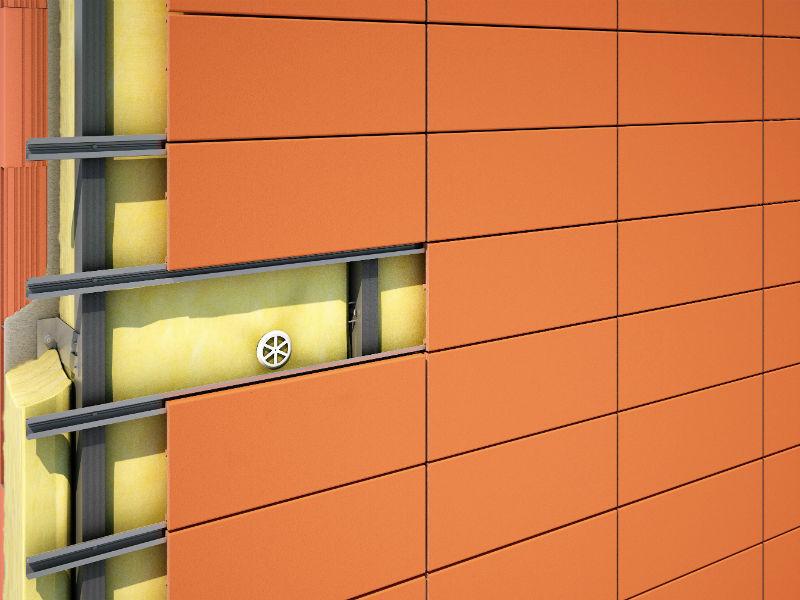 Правильный монтаж вентилируемых фасадов