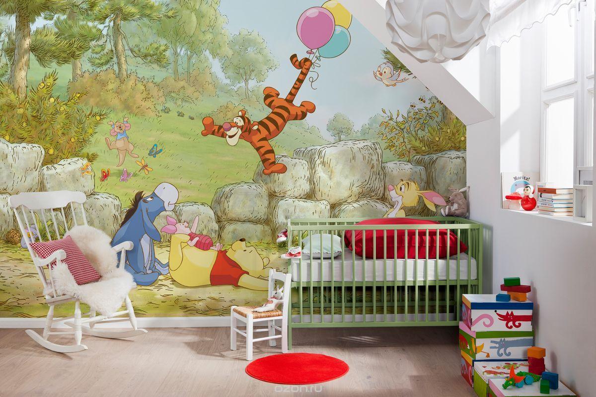 Детская комната на тему Винни Пух и его друзья
