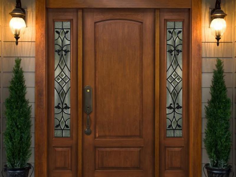 Входная дверь цвета и детали