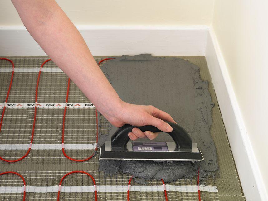 Электрический теплый пол где его нельзя проложить