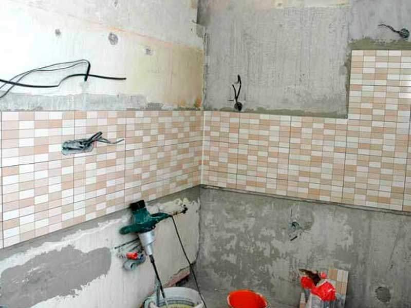 Как протянуть электропроводку в ванную комнату?