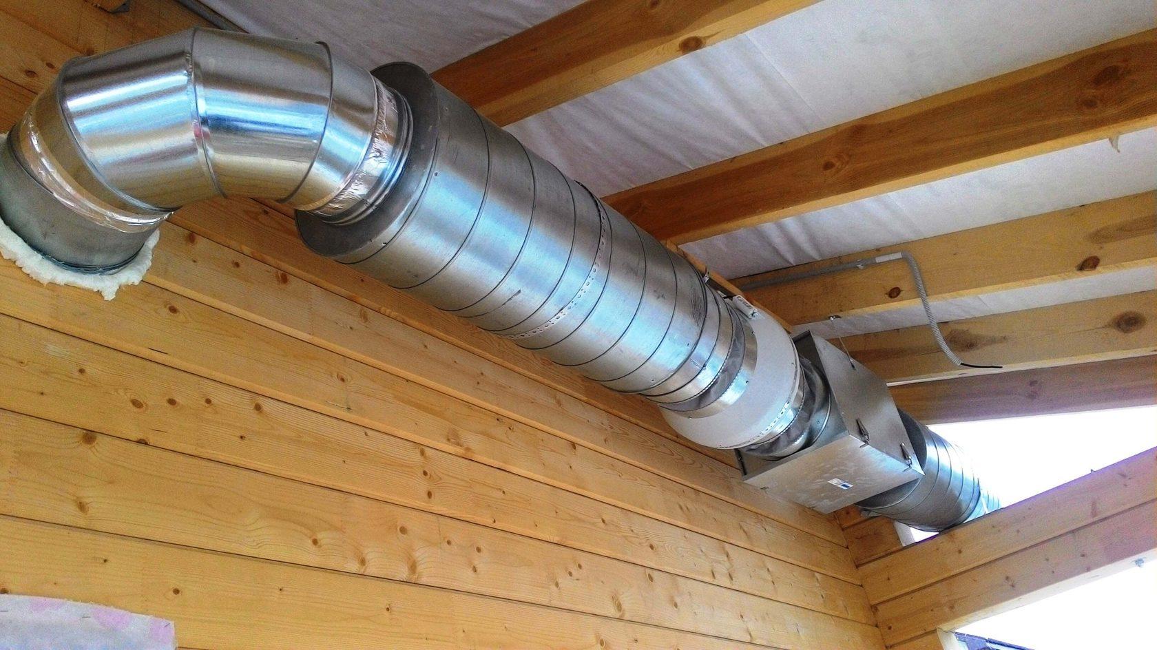 Как установить крышки воздуховодов?