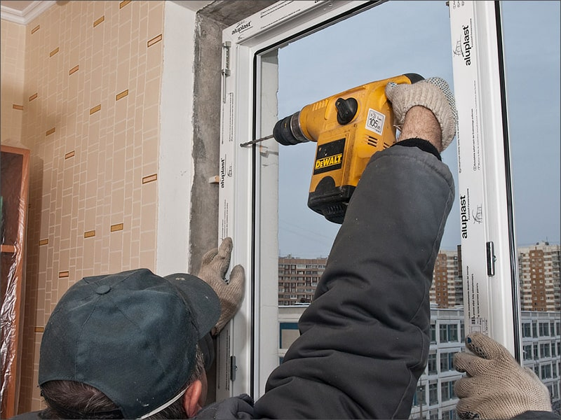 Как правильно устанавливать окна из ПВХ?