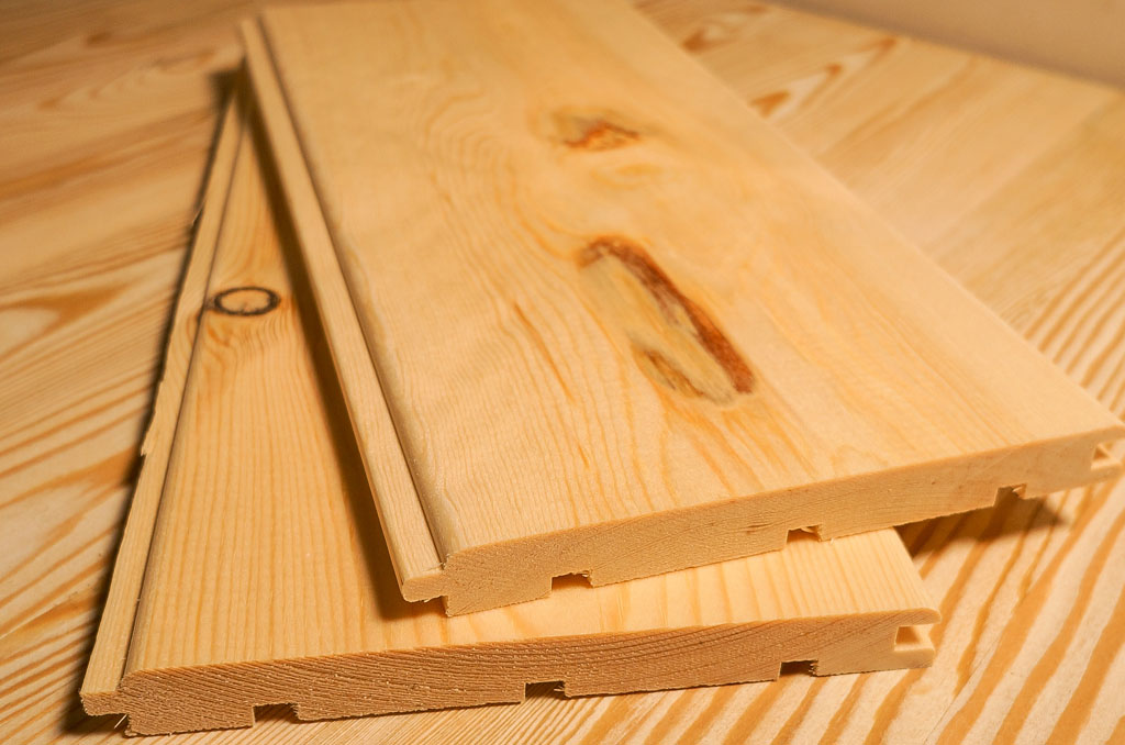 Современные отделочные материалы из дерева